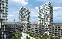 New residential complex Garden Towers – Prague