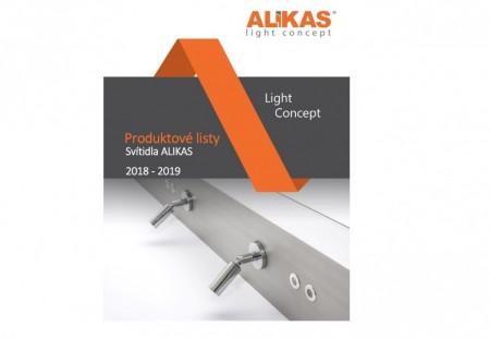 Concept light Alikas - výrobní katalog