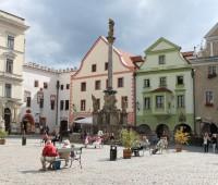 Kašna Český Krumlov