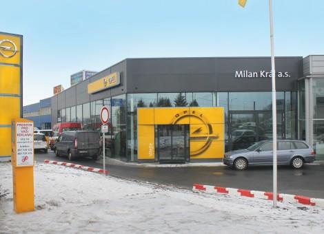 Autosalon Opel České Budějovice